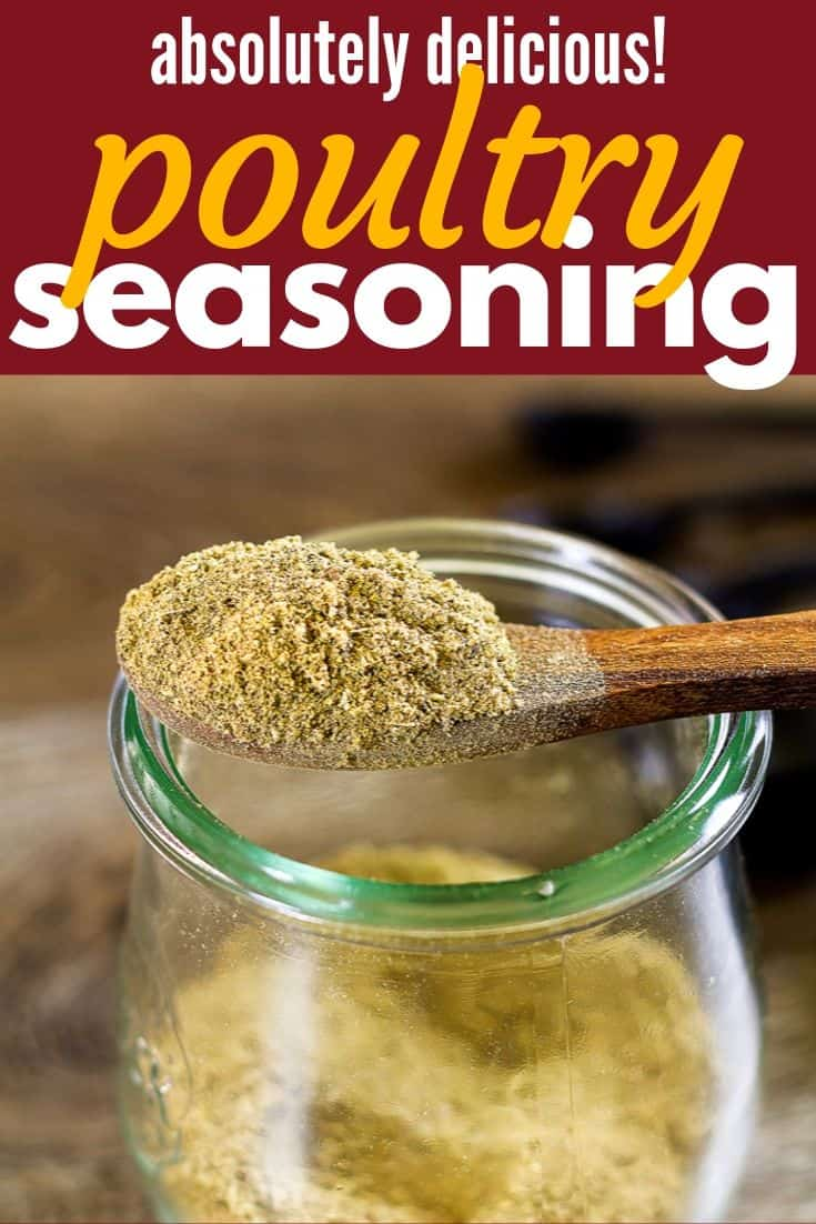 Pinterest Image for Poultry Seasoning