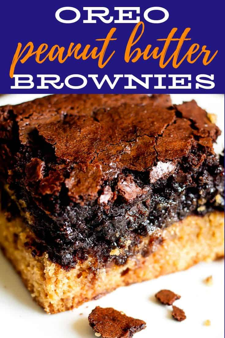 Pinterest image for Slutty Brownies