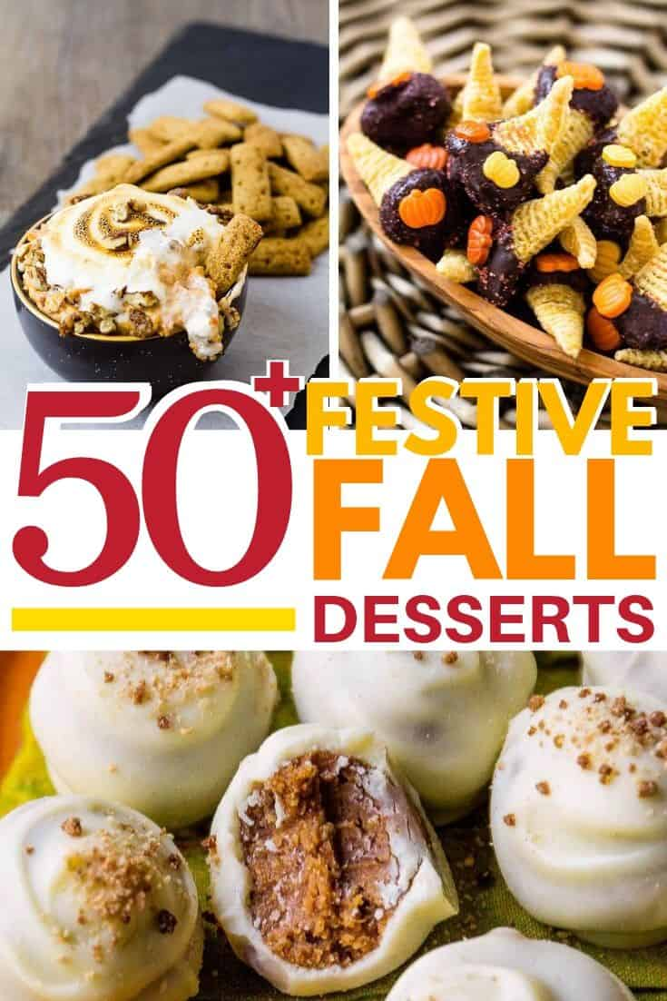 Flavorful Fall Desserts and Sweet Treats