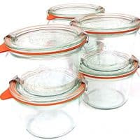 Weck - 0.25 Liter Mold Jars with Lids
