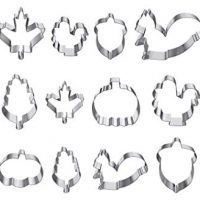 Fall Cookie Cutters, set of 12