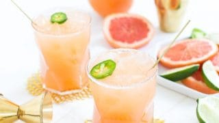 Sips For Summer: Spicy Paloma Recipe