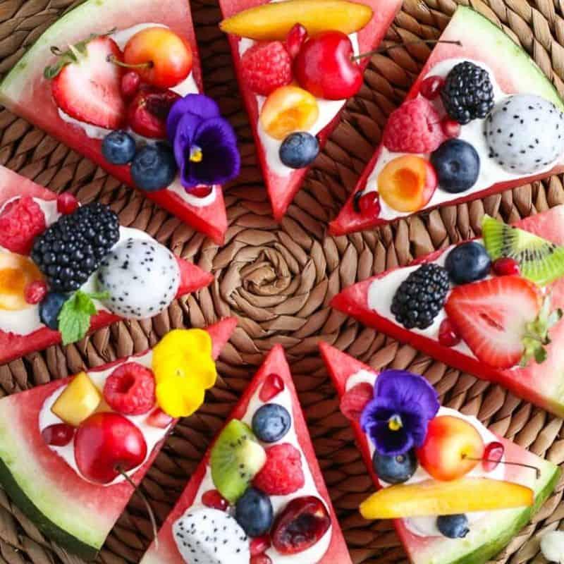 Easy Watermelon Pizza Dessert – Family Friendly!