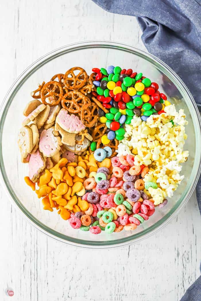 separated ingredients in a bowl