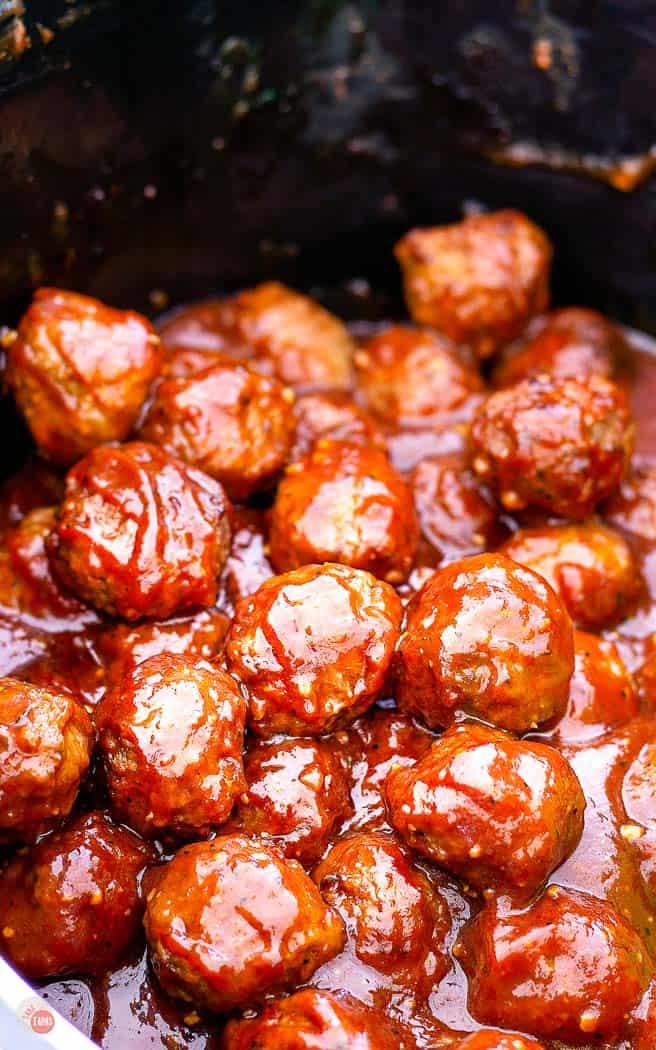BBQ Meatballs {Crock Pot Recipe!}