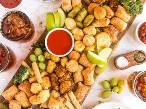 Air Fryer Finger Foods Platter