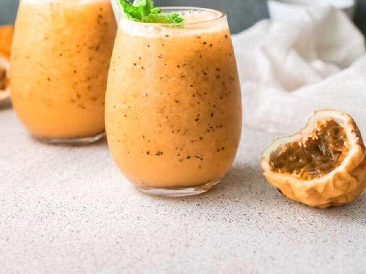 Mango Passion Fruit Wine Slushie