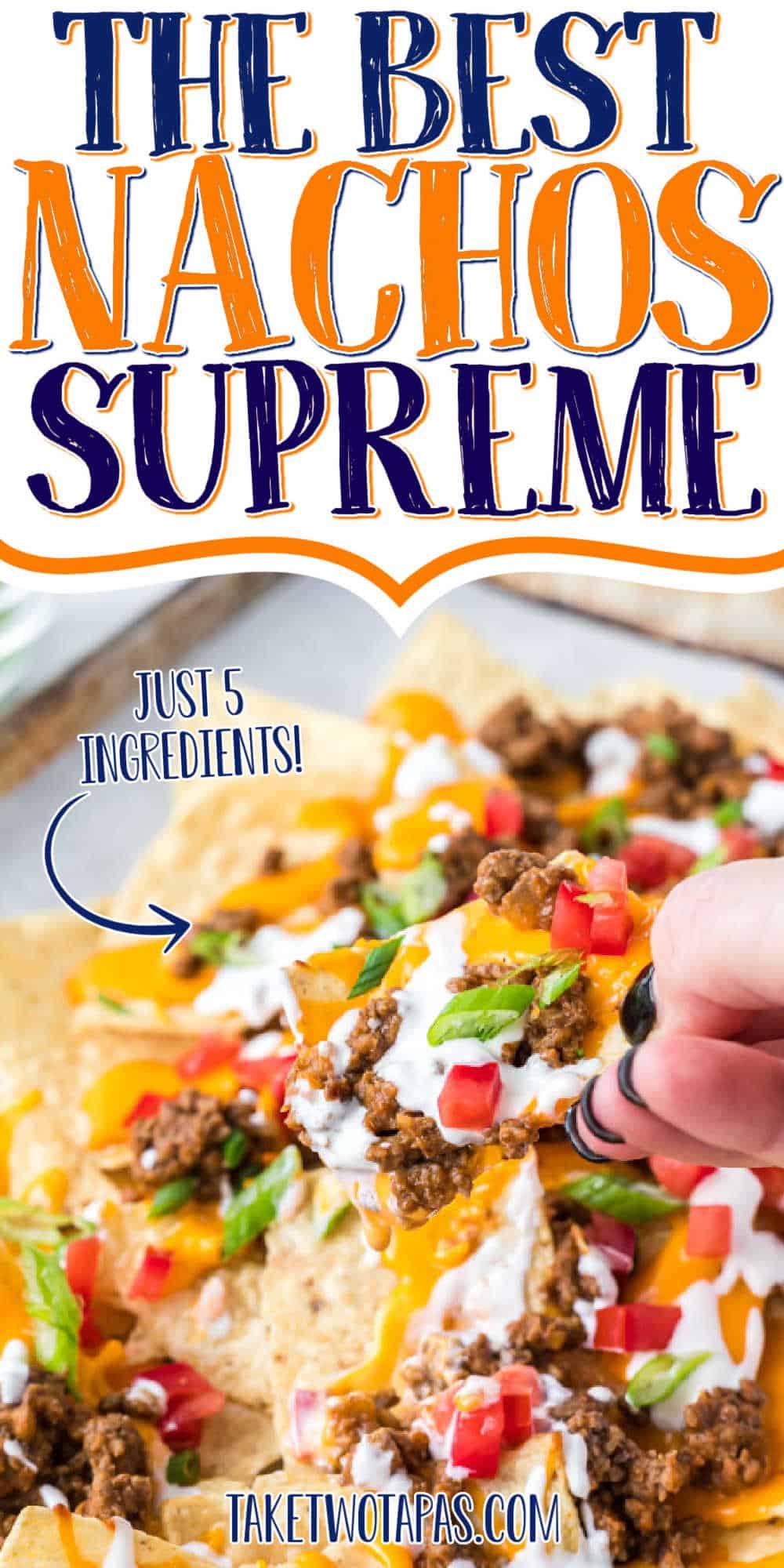 """nachos with text 'the best nachos supreme"""""""