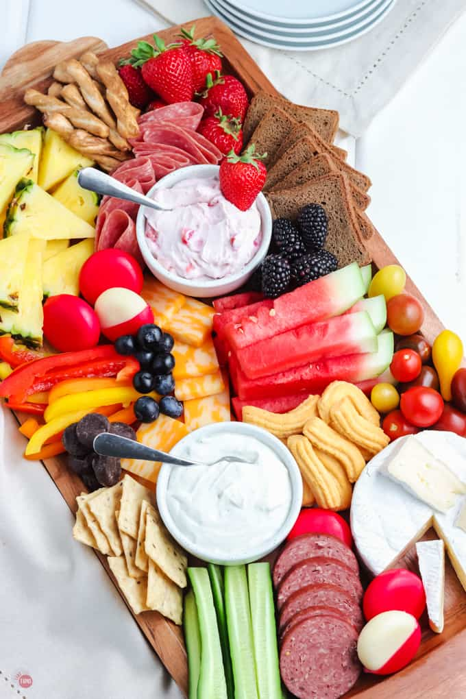 summer snack board