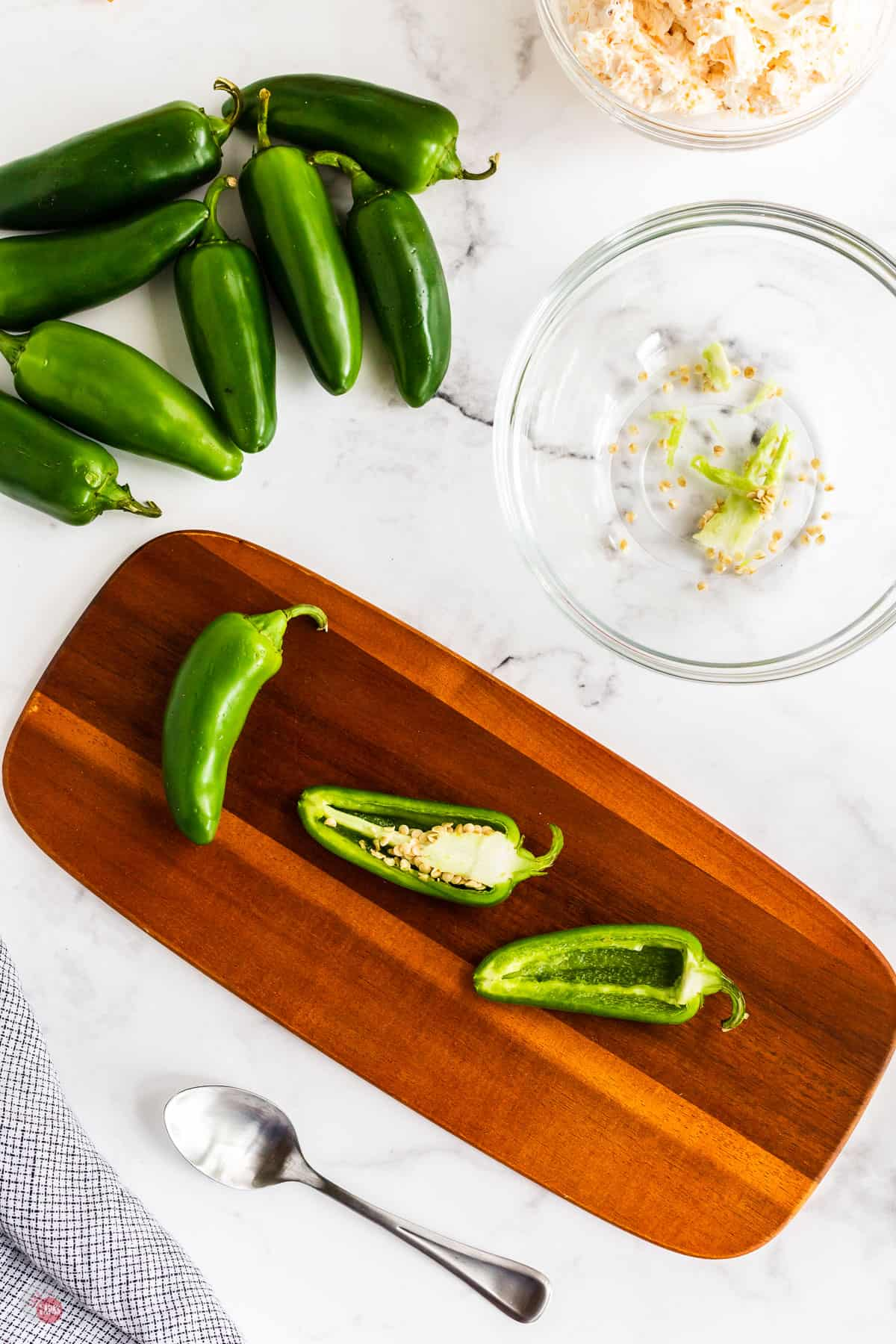 sliced jalapeno peppers