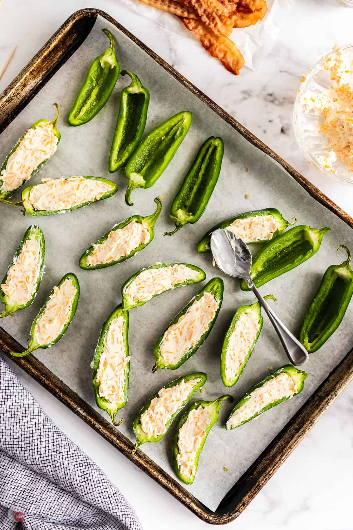 filled jalapeno peppers