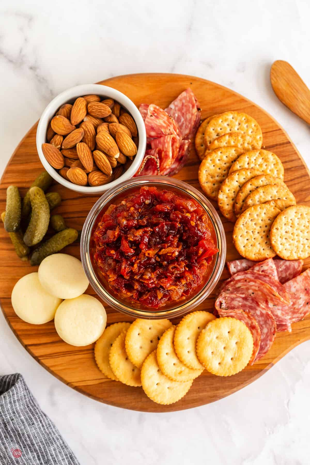 meat and cheese board