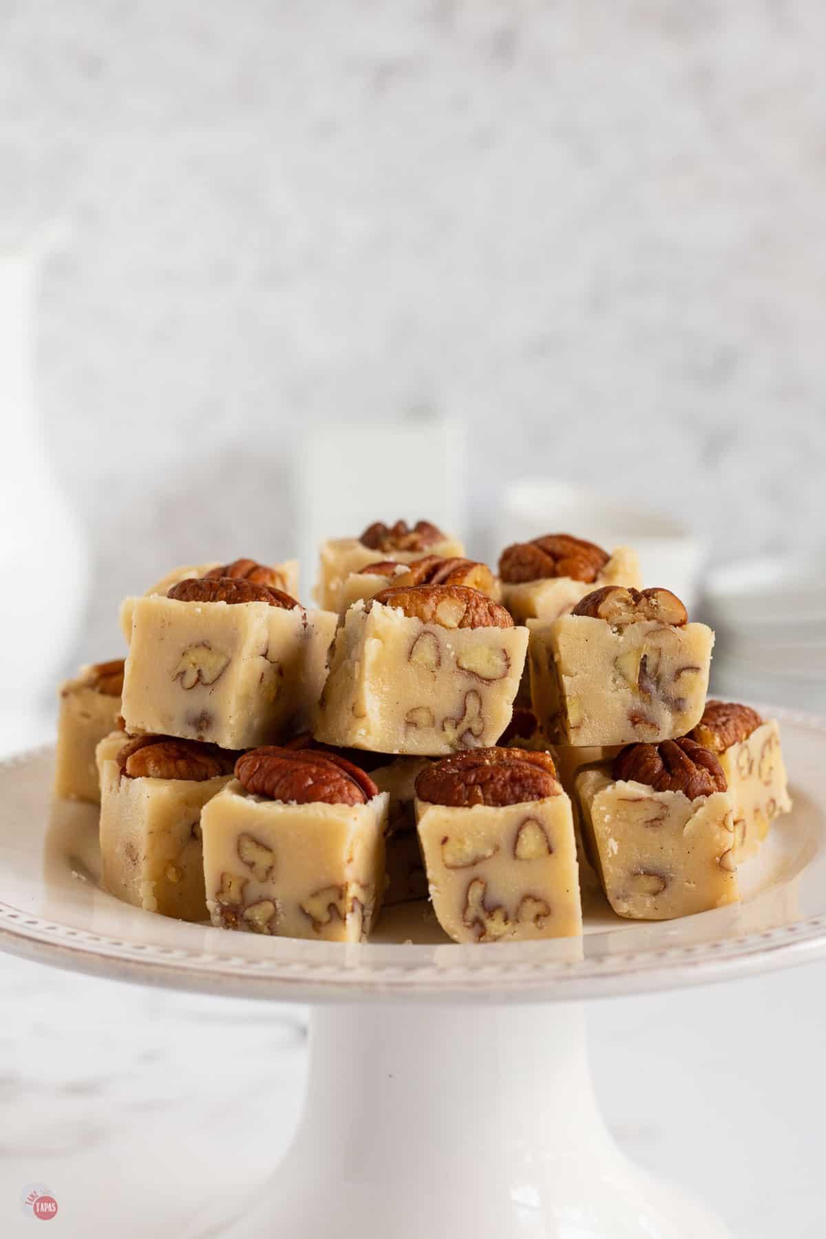 tray of fudge